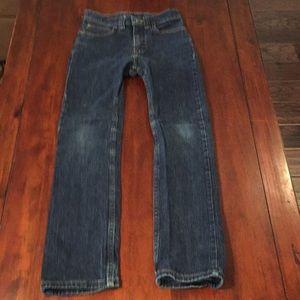 Wrangler 12 Slim blue jeans
